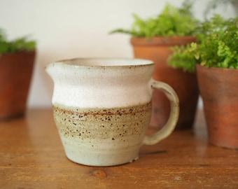 Rustic Jug - Studio Pottery Jug