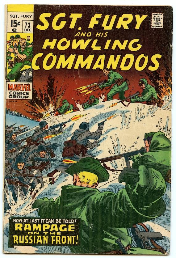 Sgt. Fury 73 Dec 1969 VG+ (4.5)