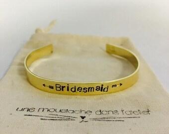 Bridesmaid bracelet