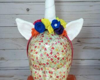 Unicorn Horn, Unicorn Headband, Unicorn Costume Headpiece, Unicorn Party Favor, Party Hat