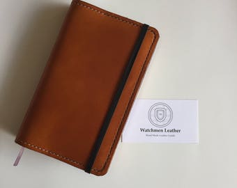 Hand made leather cover for Moleskine Notebooks Notes Art Drawing Detective Meeting To Do List Sketch Draw Small Pocket Writing Journal