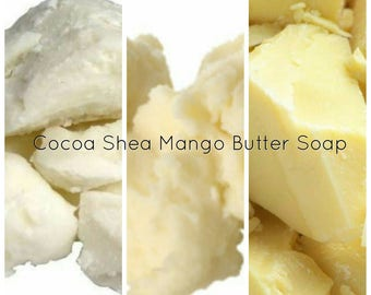 Cocoa Shea Mango Butter Soap* Triple Butter Soap*
