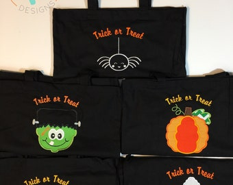 Halloween Trick of Treat Bags