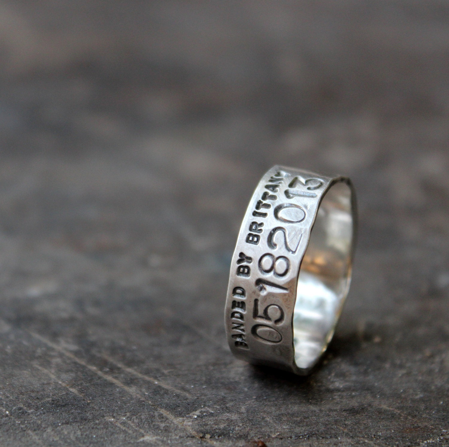 duck band ring with production