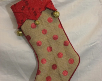 Christmas stocking; stocking; gift stocking