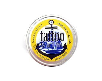 Tattoo Balm.  All Natural Tattoo aftercare. tat balm