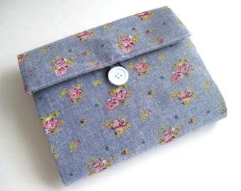 Makeup Bag Organizer   Makeup bag Cosmetic Bag   Make up bag   pencil case travel bag purse organizer toiletry bag jean floral zipper pouch