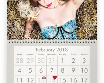MILEY CYRUS 2018 Calendar