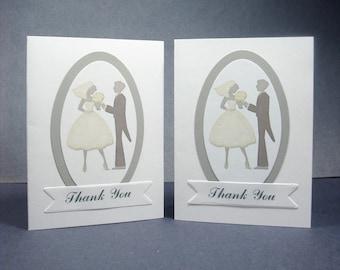Bridal Shower Thank You Card Set, Wedding Thank You Card Set, Bridal Thank You Card Set, Thank You Card Set