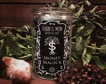 Money Magick Candle