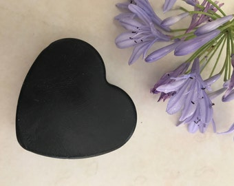 Luxury Heart  Shaped  Activated Charcoal Handmade Soap/Charcoal Oatmeal Soap/Citrus Charcoal Soap