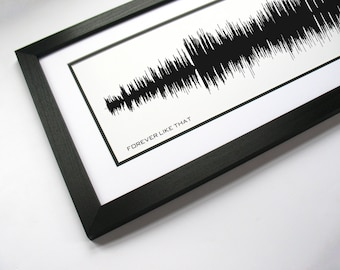 Forever Like That - Sound Wave Art, Wedding Dance Song, First Dance Song Lyrics