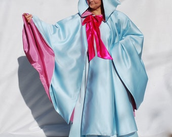 Fairy Godmother Cape Only, Sky Blue