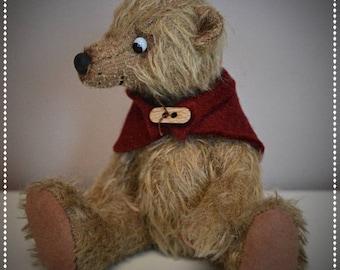 Ben, OOAK artist bear - cute gift