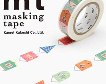 MT Washi Masking Deco Tape Pennant Design