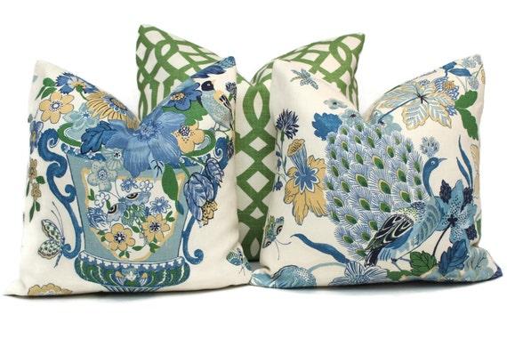 Schumacher Lansdale Decorative Pillow Cover 18x18 20x20