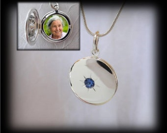 Small locket with 1 photo