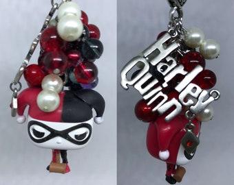 Harley Quinn key fob