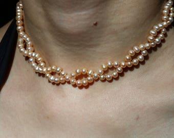 Bubble Pearl Choker Necklace