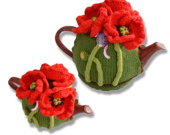 Poppies and Mouse Tea Cosy