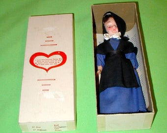 The Amish vintage doll in original box with paperwork rare