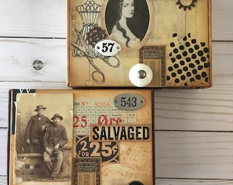Custom Vintage Altered Cigar Box made just for YOU