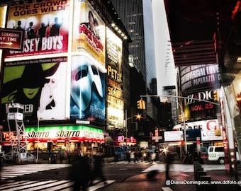 Broadway Prints, New York Wall Print,  Broadway Gifts, New York City, Broadway Art, Times Square Prints,  NYC Wall Print,  NYC Art