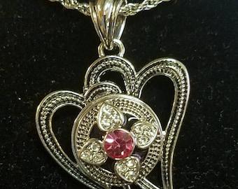 Heart2Heart Charm Necklace