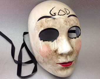 The Purge GOD Mask for Halloween Costume Dress up Cosplay Party