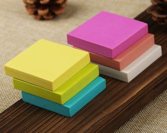 Square Rubber Block - Solid Color DIY Rubber Stamp - Stamp Rubber - 5cm - MR025