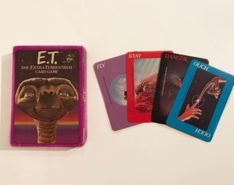 VINTAGE 'E.T The Extra-Terrestrial Card Game' 1982