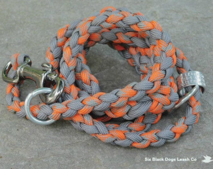 Hunting Combination Slip/Snap Bolt 4 Foot Leash Combination