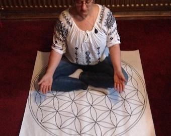 Flower of Life meditation mats-Bradford only.