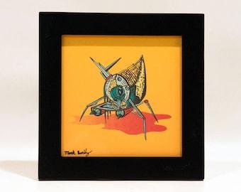 Acarite Tick *Framed Print