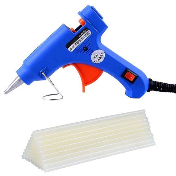 Hot glue gun with 30 pcs hot melt glue sticks for diy for Hot glue guns for crafts