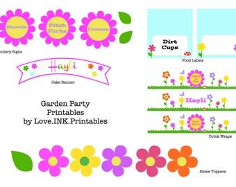 Garden Party Printables
