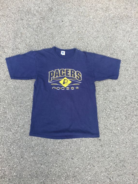 Vintage 90s INDIANA Pacers Athletic T-Shirt Large - NBA - Throwback - Basketball - Eastern Conference - L - Miller - Oladipo - NBA2K - MVP rPay6xt8