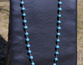 Jazzy Jade long Link Necklace