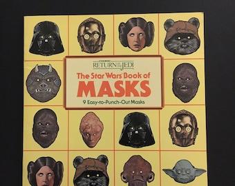 The Star Wars Book Of Masks - Complete - 1983 - Vintage