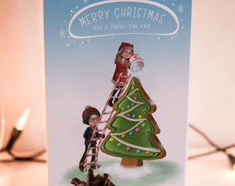 Christmas Card, Holiday Cards, Adult Christmas Card, Funny Holiday Card, Cute Love Card Printable, Christmas Printable Card, Christmas Gift.