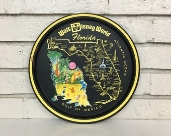 Vintage Walt Disney World Souvenir Tray