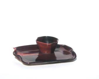 Chip and Dip Set - Medium - Sandia Glaze