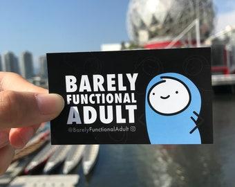 BFA Transit Card or Laptop Sticker
