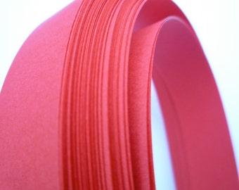 Red~ Moravian German Froebel Star Paper (52 strips)