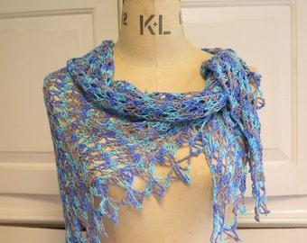 Crochet Shawl Pattern, Lace shawl, instant download PDF
