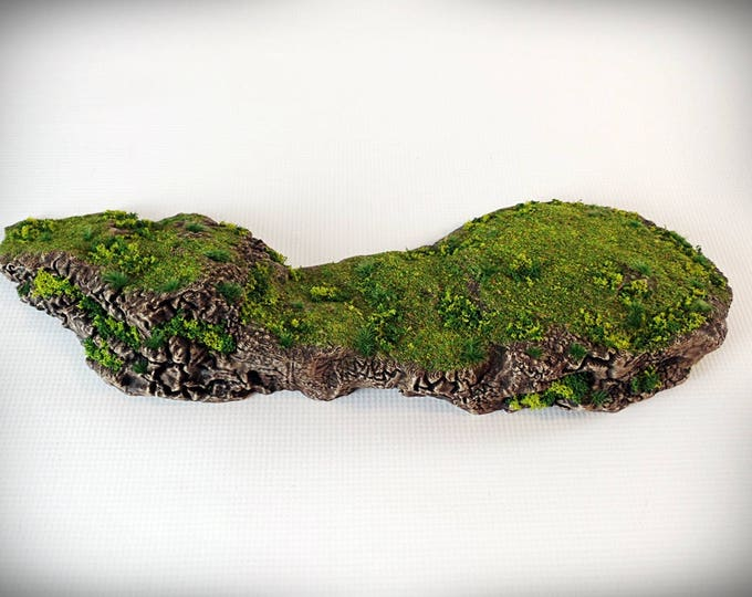 Pedestal Outcropping - Print your own!- DIGITAL FILE – Miniature Wargaming & RPG rock formation terrain