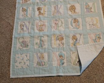 """Baby Quilt """"Precious Moments"""""""