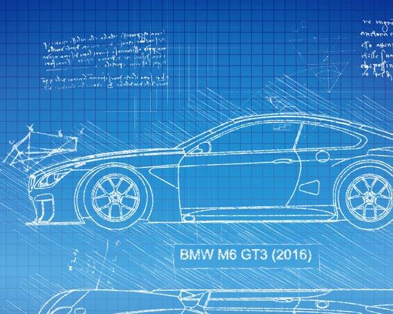 Bmw m6 gt3 2016 da vinci sketch bmw artwork blueprint adelo a tus favoritos para volver ms adelante malvernweather Choice Image