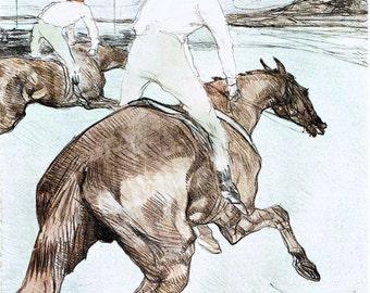 Toulouse Lautrec, Toulouse Lautrec Jockey,  Lautrec Toulouse, The Jockey, The Toulouse, Giclee Print, Equestrian, Horse Decor, Horse Race
