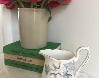 "vintage royal albert ""silver maple"" milk jug"